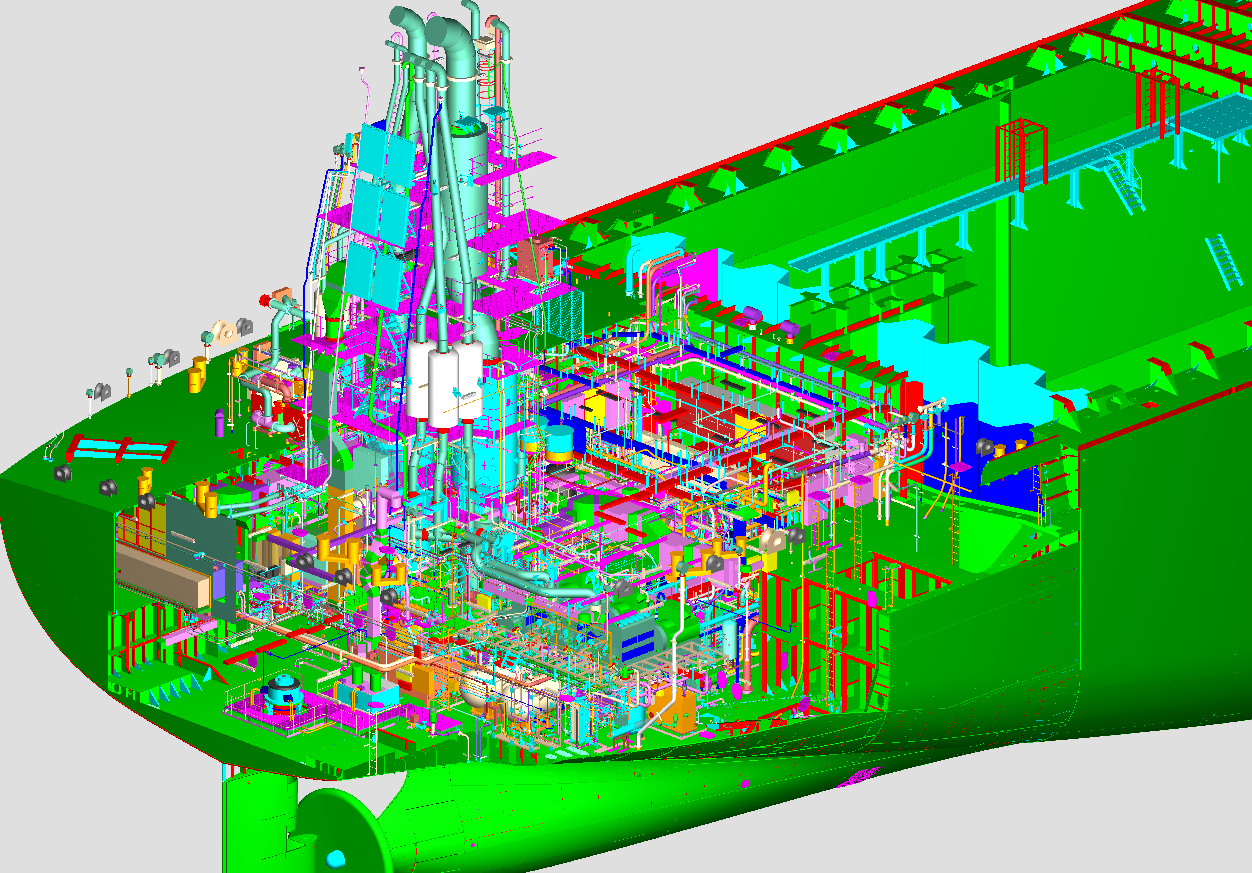 tribon m3 structure Complete 3d modelling in tribon and detailed production design of hull/structures, piping systems, machinery/equipment, hvac & electrical systems, hull-outfits faired lines and offsets 3d modelling of complete vessel: viz all hull / structures, machinery/equipment, pipes, cable tray, ducts etc.